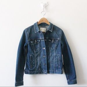 NWT Vince Camuto Medium Wash Denim Jacket Too 1936